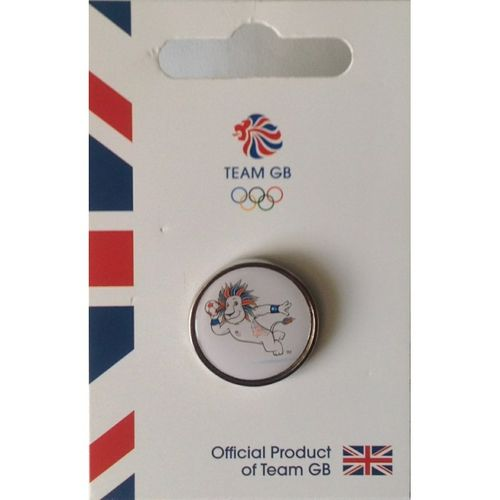 Rio 2016 Team GB Pride Handball Pin Badge