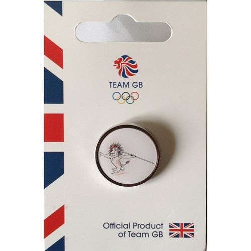 Rio 2016 Team GB Pride Athletics Pin Badge