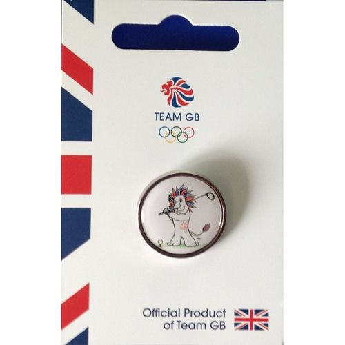 Rio 2016 Team GB Golf Picogram Pin Badge