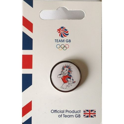 Rio 2016 Team GB Pride Rugby Pin Badge