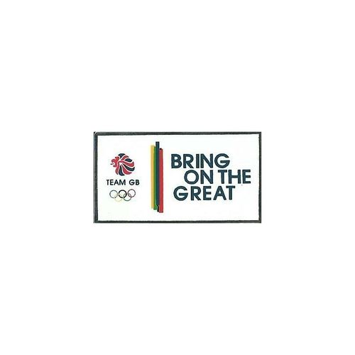 Rio 2016 Team GB Bring On The Great Pin Badge