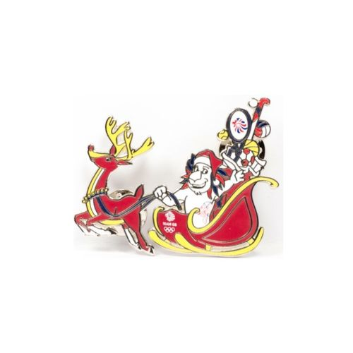 Rio 2016 Team GB Christmas Pin Badge