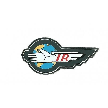 Thunderbirds International Rescue Mini Logo Pin Badge