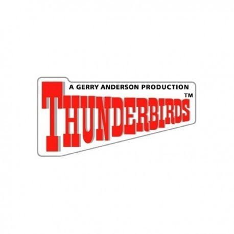 Thunderbirds Logo Pin Badge