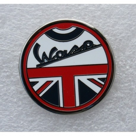 Vespa Union Flag Pin Badge
