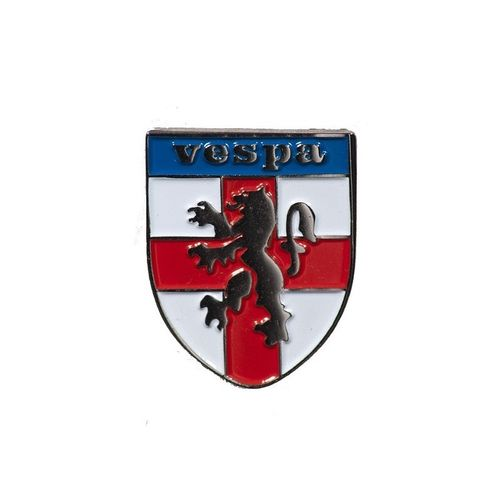 Vespa St George Shield Pin Badge
