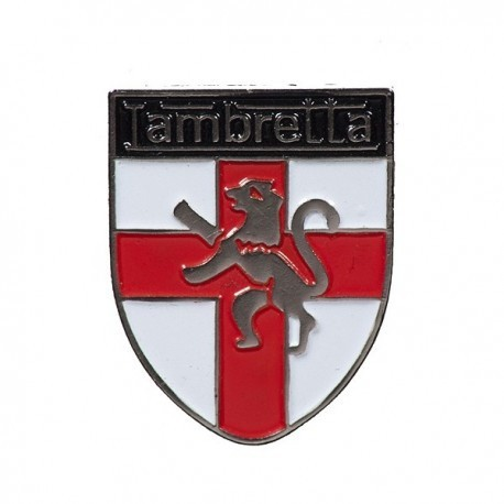 Lambretta St George Shield Pin Badge