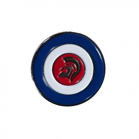 Trojan MOD Roundel Pin Badge