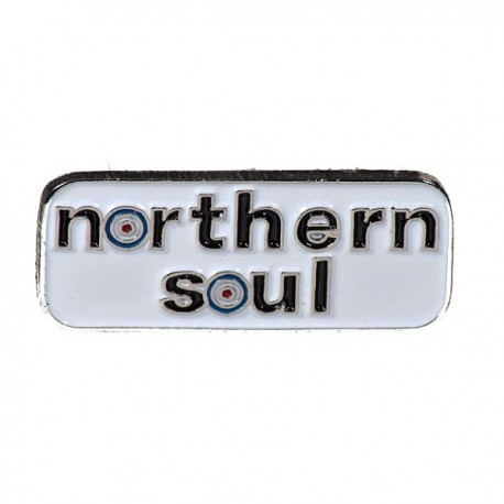 Northern Soul Small Rectangle Pin Badge