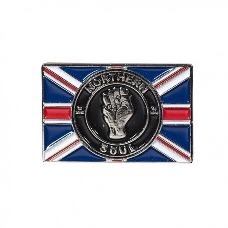 Northern Soul Union Flag Pin Badge