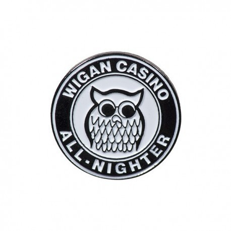 Wigan Casino All-Nighter Pin Badge