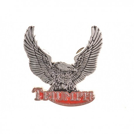 Triumph Motorcycle Large Eagle Pin Badge