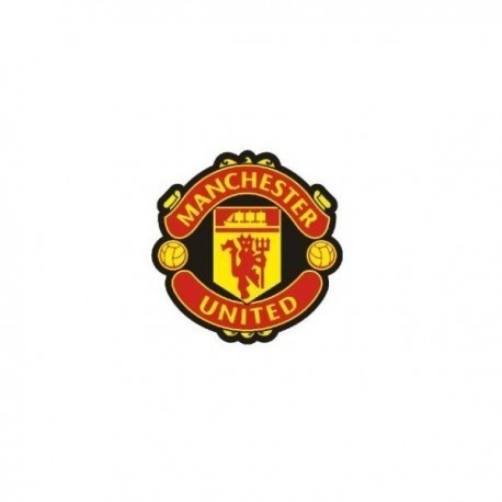 Manchester United Official Rubberized Crest Pin Badge
