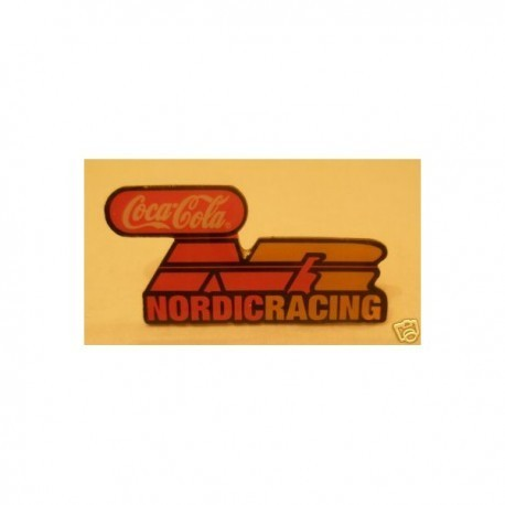 Coca Cola Nordic Racing Team Formula 3000 Pin Badge