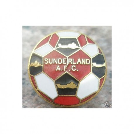 Sunderland FC Pin Badge (Football Design)
