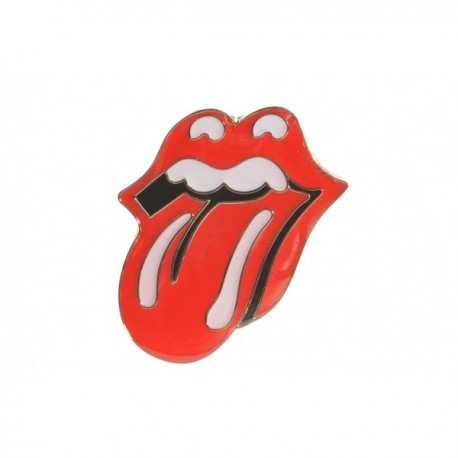 Rolling Stones Tongue Pin Badge