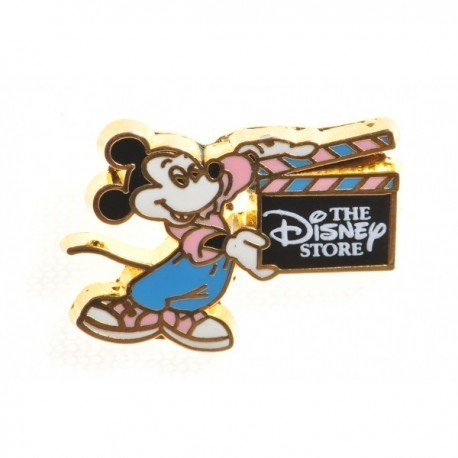 Disney Store Mickey with Clapperboard Pin Badge