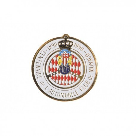 Automobile Club de Monaco 100th Anniversary Lapel Pin