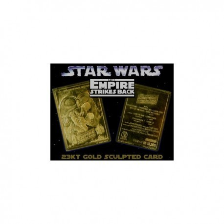 Star Wars 23kt Gold Card - The Empire Strikes Back