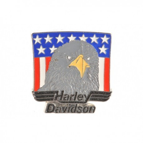 Harley Davidson American Eagle Pin Badge
