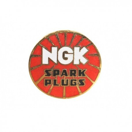 NGK Spark Plugs Pin Badge