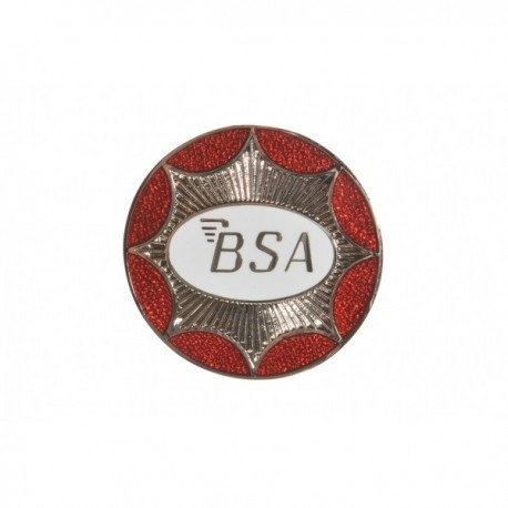 BSA Circular Star Pin Badge