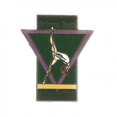 ATLANTA 1996 OLYMPIC BALANCE BEAM PIN