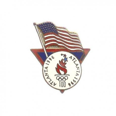 ATLANTA 1996 OLYMPIC FLAG PIN