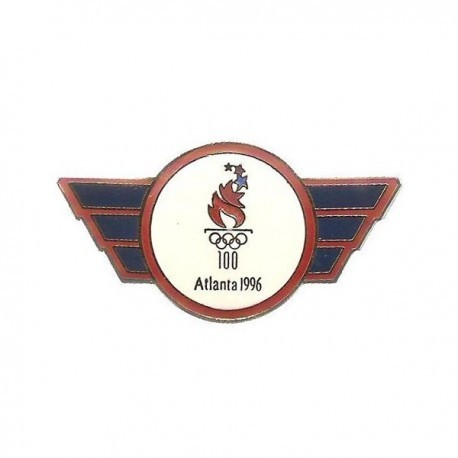 ATLANTA 1996 OLYMPIC WINGED LOGO PIN