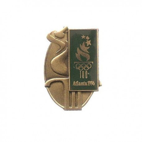 ATLANTA 1996 OLYMPIC BRONZE EFFECT PIN