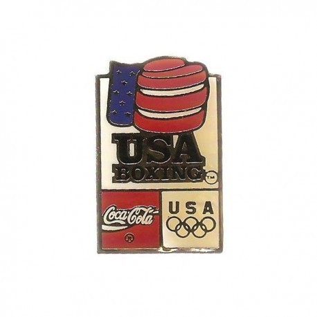 ATLANTA 1996 OLYMPIC BOXING 'COCA COLA' SPONSOR PIN