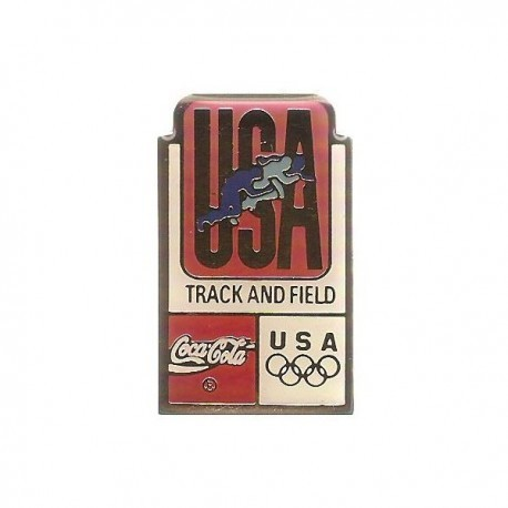 ATLANTA 1996 OLYMPIC TRACK & FIELD 'COCA COLA' SPONSOR PIN