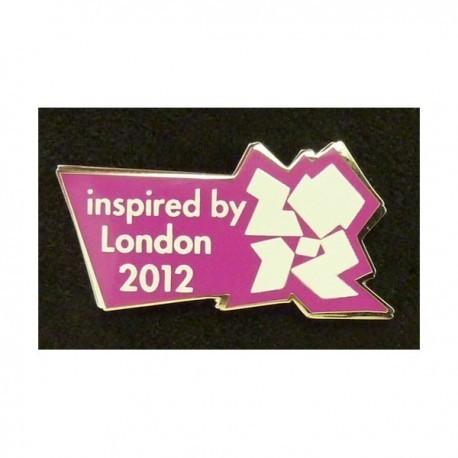 London 2012 Olympic LOCOG 'Inspired By' Pin Badge - SPECIAL OFFER