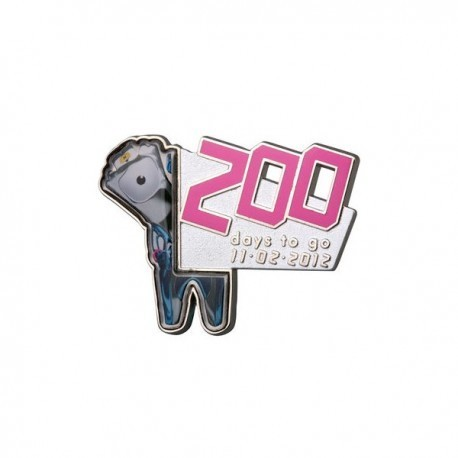 London 2012 Paralympic 200 Days To Go Mandeville Pin Badge