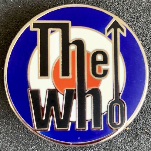 The Who MOD Target Pin Badge