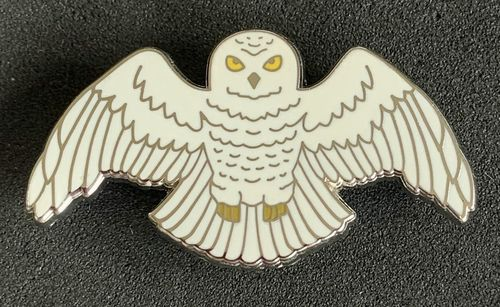 Harry Potter Hedwig Enamel Pin Badge