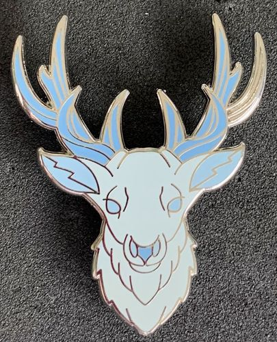 Harry Potter Patronus Charm Enamel Pin Badge