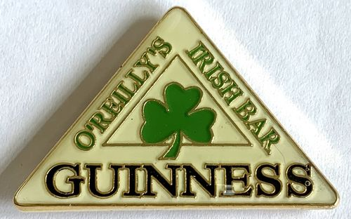 Guinness O'Reilly's Irish Bar Pin Badge