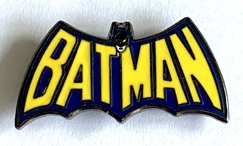 Batman Classic 1966 TV Logo Pin Badge