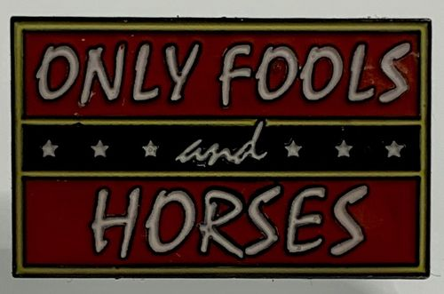 Only Fools and Horses Logo Pin Badge