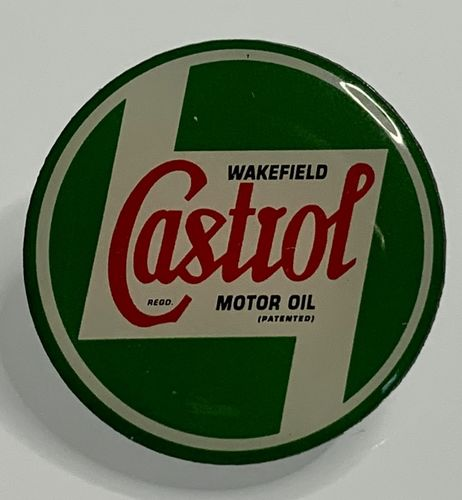 Castrol Motor Oil Pin Badge