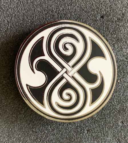 Doctor Who Seal Of Rassilon Symbol Pin Badge