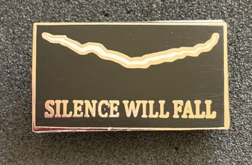 Doctor Who The Silence Will Fall Pin Badge