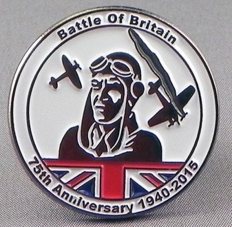 Battle of Britain 75th Anniversary Pin Badge