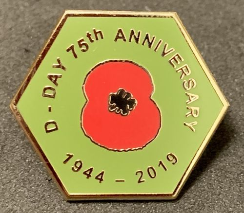 D-DAY 75th Anniversary British Army Pin Badge