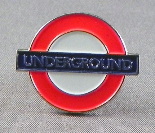 London Underground Pin Badge