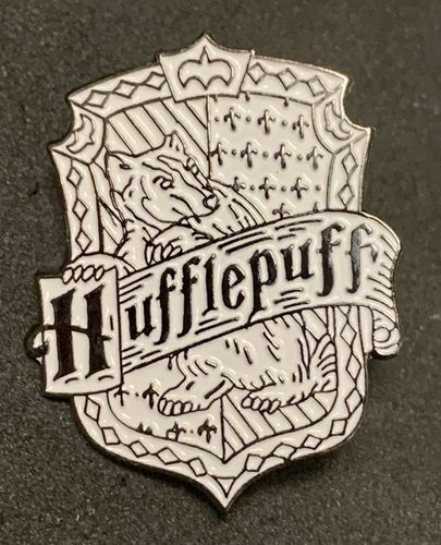 Harry Potter Hufflepuff Crest Pin Badge