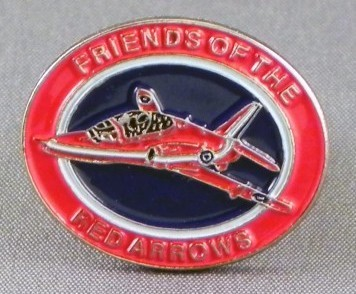 Friends Of The Red Arrows Pin Badge