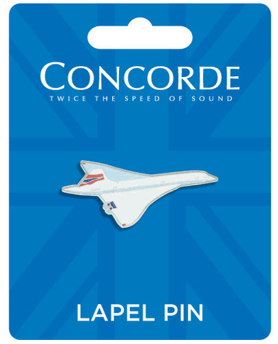 Concorde Aircraft Pin Badge