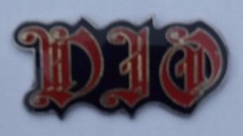 Ronnie James DIO Official 1989 Metal Enamel Pin Badge
